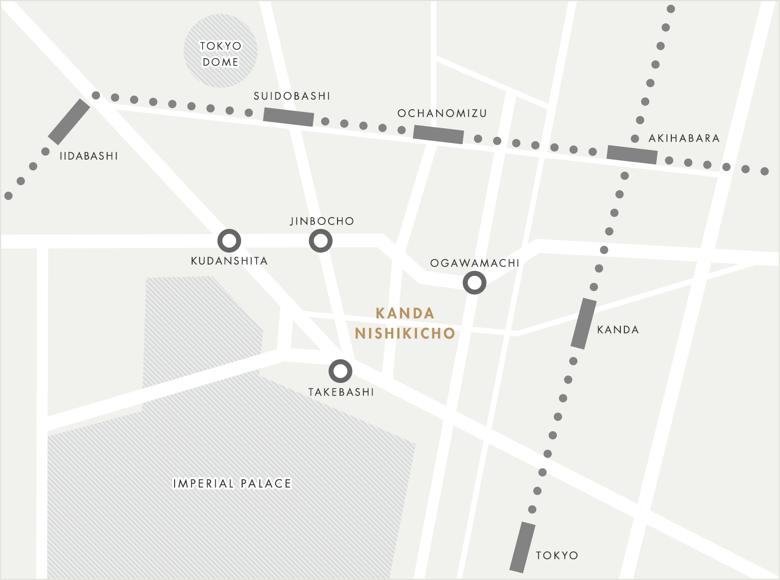 Kanda Nishikicho Map